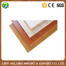 Melamine paper coated board/laminated plywood/waterproof trim board