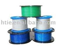 pvc coated steel wire rope 6*7