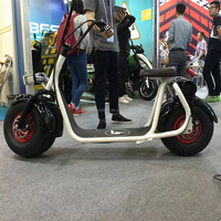 Big promotion price Mag Citycoco with remote key hands free electric scooter retro light mobility e smart scooter double pedal