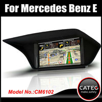 "OEM 7"" in dash double din auto dvd gps navigation bluetooth touch screen headunit for mercedes benz E220 CDI"