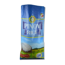 white and non-toxic rice, wheat, paddy, corn pp woven bag 50kg