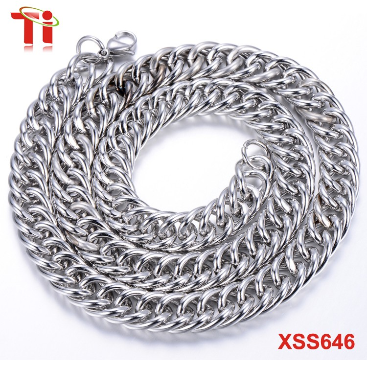 Dongguan Aohua Jewelry XSS437 14k gold jewelry manufacturers aohua stainless steel chain Fashion necklace designs in 10 grams