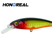 2017 3d eyes Artificial japanese hard plastic fishing lures