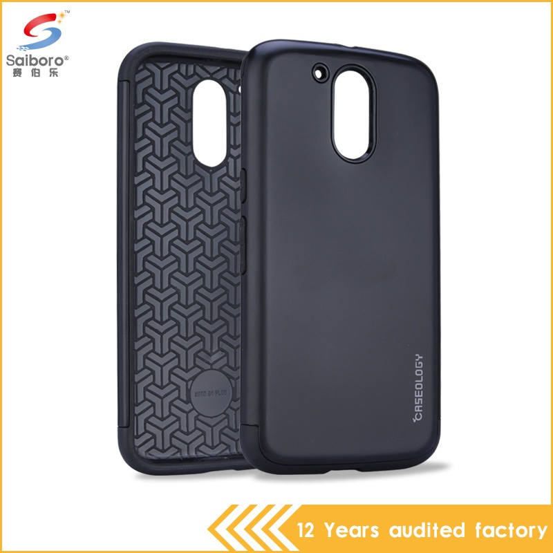 Alibaba China wholesale hybrid heavy duty phone cover case for motorola for moto g4