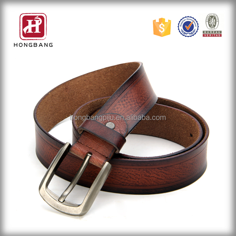 2015 NEW 100% Original Leather Men Belt Custom Men's Genuine Leather Belt Men