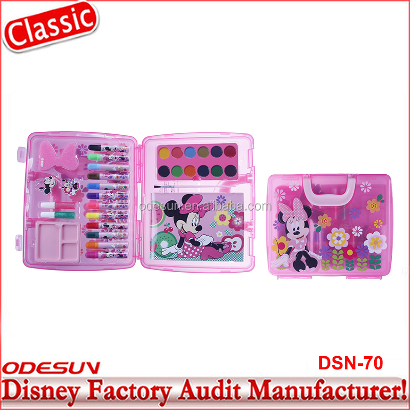 Disney Universal BSCI Carrefour Factory Audit Kungfu Panada Frozen Minnie New Toys For Kids Stationery Products Set 35
