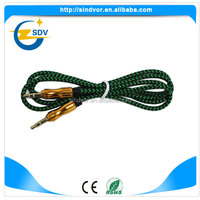 Hot-Selling high quality low price 3.5mm to usb splitter cable and 3.5mm audio cable