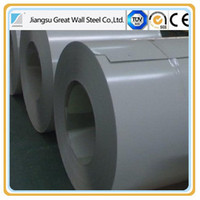 China Prepainted GI steel coil / PPGI / PPGL color coated galvanized steel sheet in coil for roofing tiles