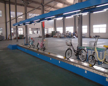 bicycle assembly production line