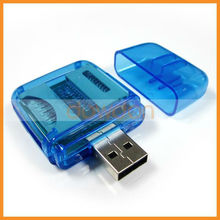 Hot Selling All in One Multi Driver USB 2.0 Micro SD Micro USB Card Reader