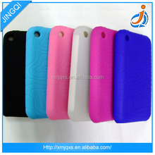 Silicone colorful mobile phone case for blackberry z20