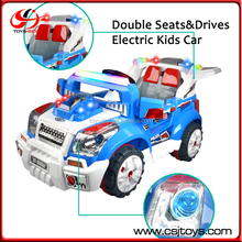 Hot Selling 4 Channel Double Seats Double Drives Kids Car Electric Kids Ride On Car For 7 Years Old Kids