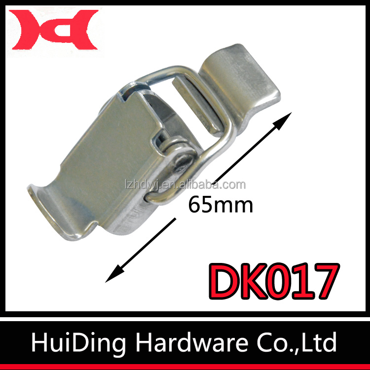 Stainless Steel Hasp And Staple / Metal Lock With Clasp / Case Clasp Lock DK017