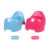 Portable fancy children baby potty toilet bowl seat with cleaning brush