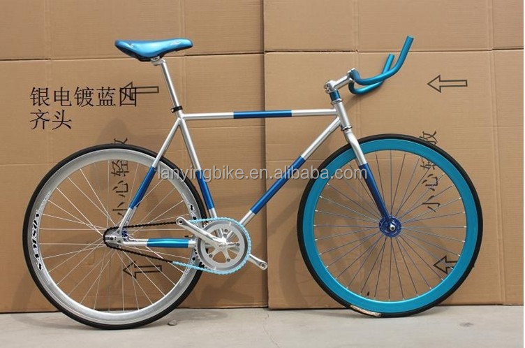 Horn handlebar Fixie Bicicleta/single speed fix gear bike/Fix Gear bicycle with steel frame