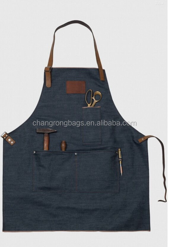 Heavy Duty Aprons : Heavy duty duck cotton canvas work apron for men