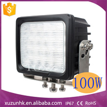 12v/24v EMC 100w hid driving light for Truck, tractor,trailer