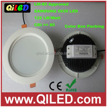 NEW item high brightness 5inch 12W SMD5630 ultra thin led downlight 3 years warranty