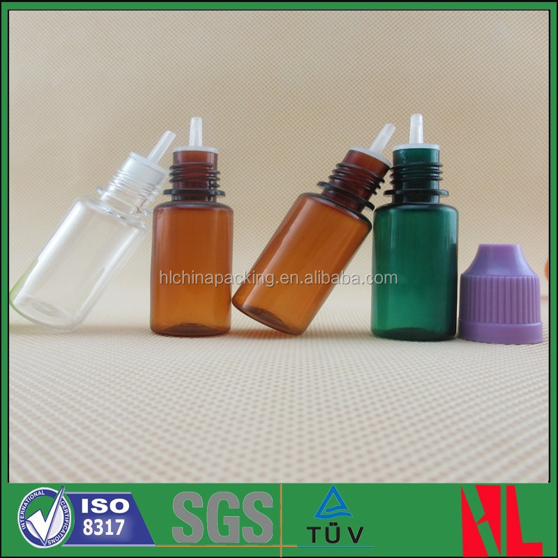 10ml Plastic Needle Tip Thin And Long Drip Tip Bottle