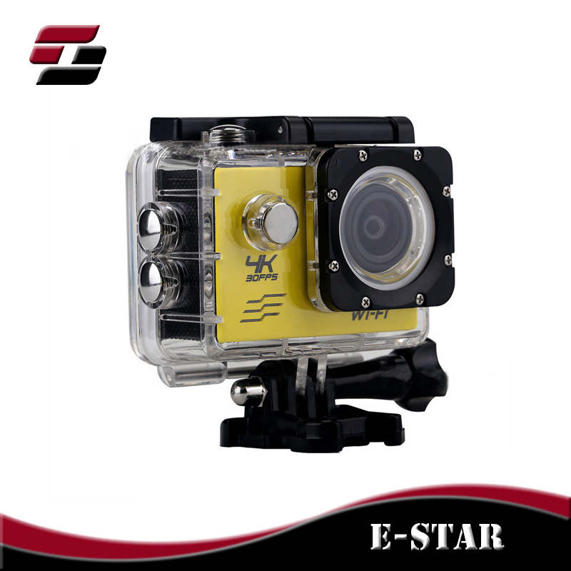 WiFi Waterproof 4K 30FPS 16M Ultra HD Sport Action Video Camera For Outdoor Sports