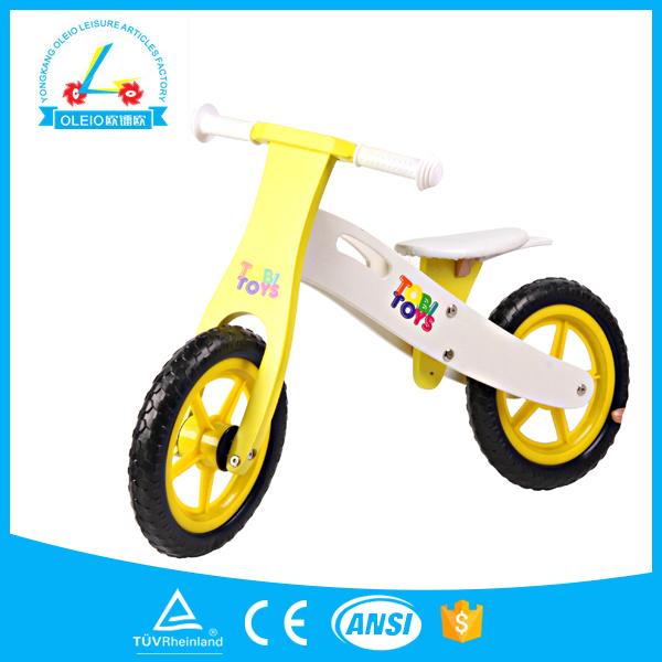 New products best wooden kids push bikes for toddlers