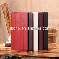 Wholesales stand leather case for ipad 5