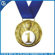 Die casting gold,silver,bronze metal medal by hollow design