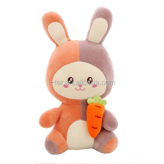 Top grade quality customized soft stuffed rabbit baby toy for children