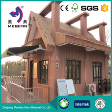 Hot sale wood plastic floor boards exterior wall cladding
