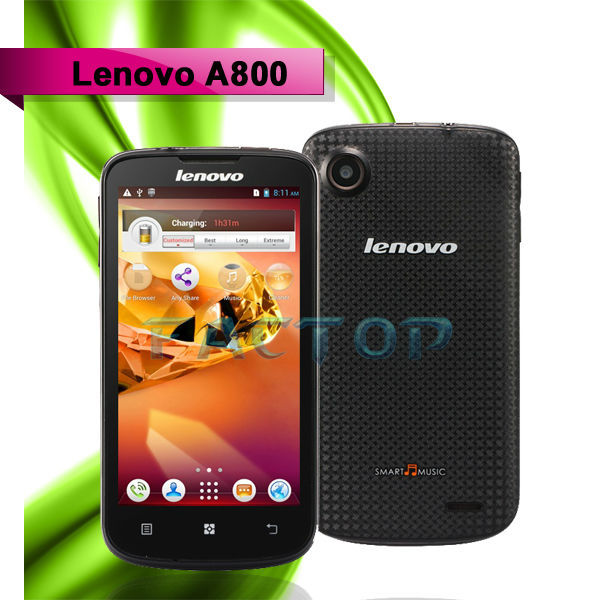 lenovo a800 with CE original alibaba android 4.0 4 sim mobile phone gsm cdma