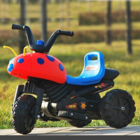 Chinese three wheel motorcycle for kids with music and light