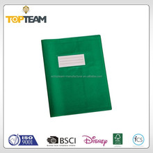 Plastic Notebook Book Slip Cover , Book Dust Jacket Covers