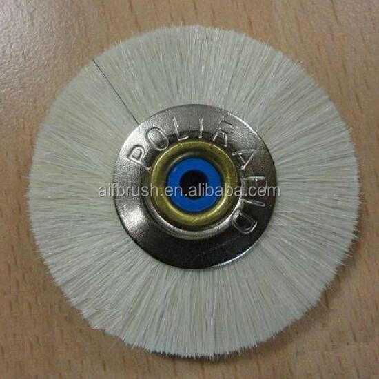 Germany hole sale OD 48mm Miniature goat hair brush with 5mm inner hole