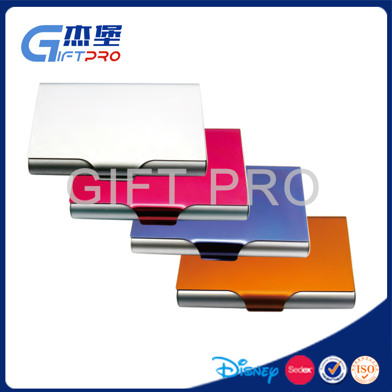 New design metal business name card case/aluminium credit card holder