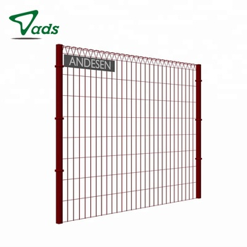 electro galvanized galvanized roll top fence panels