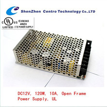Hot Sale UL approved Single Output 120w 12v 10a power supply
