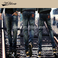 Wholesale new style jeans pent men new model adult jeans skinny fashion denim jeans trousers for men