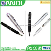 USB Flash drive of pen shape in new design pen drive 2.0 8GB