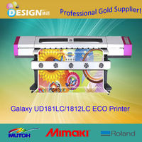 Direct factory supply 1.8m Galaxy sublimation inkjet printer ud-1812LB for printing flag uniform textile