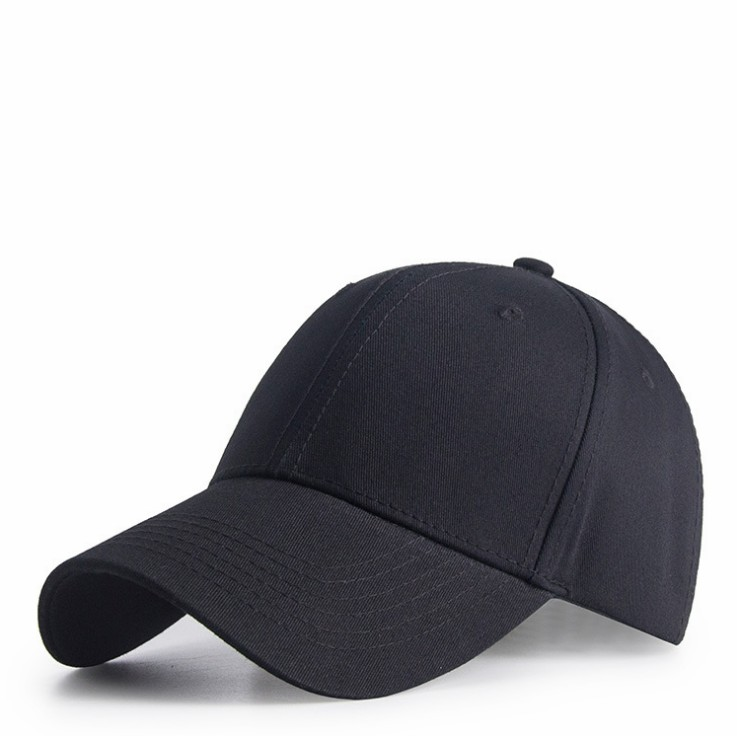 Men and Women Outdoor solid color 6 panels sports hat 100% cotton Adjustable Plain <strong>Cap</strong>