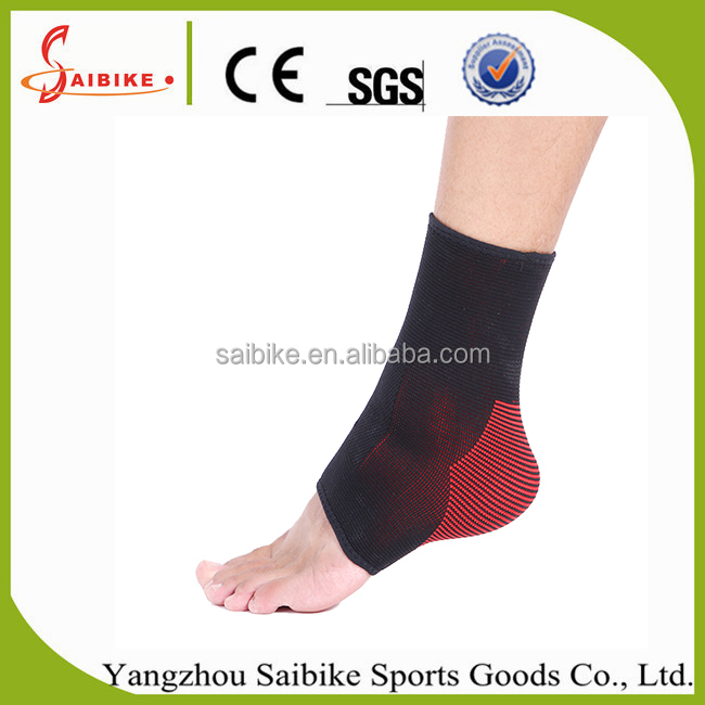 Health sports protection ankle joint Nylon Spandex compression safety soccer ankle guard