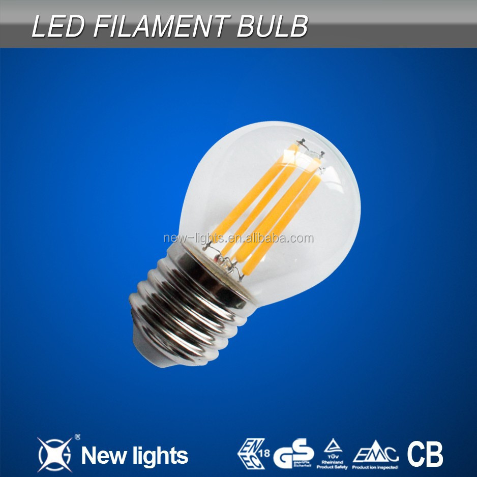 Cool White Color Temperature and Filament bulb lights type 6500K led bulb