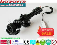 GREEN LASER DESIGNATOR/subzero shotgun mounted 50mw GREEN LASER TORCH