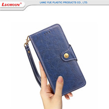 Ultra-thin Waterproof TPU Leather Phone Case For Iphone 5/5s/6s/7 6/7 Plus Oil Wax Flip Magnet Buckle Phone Cover Case