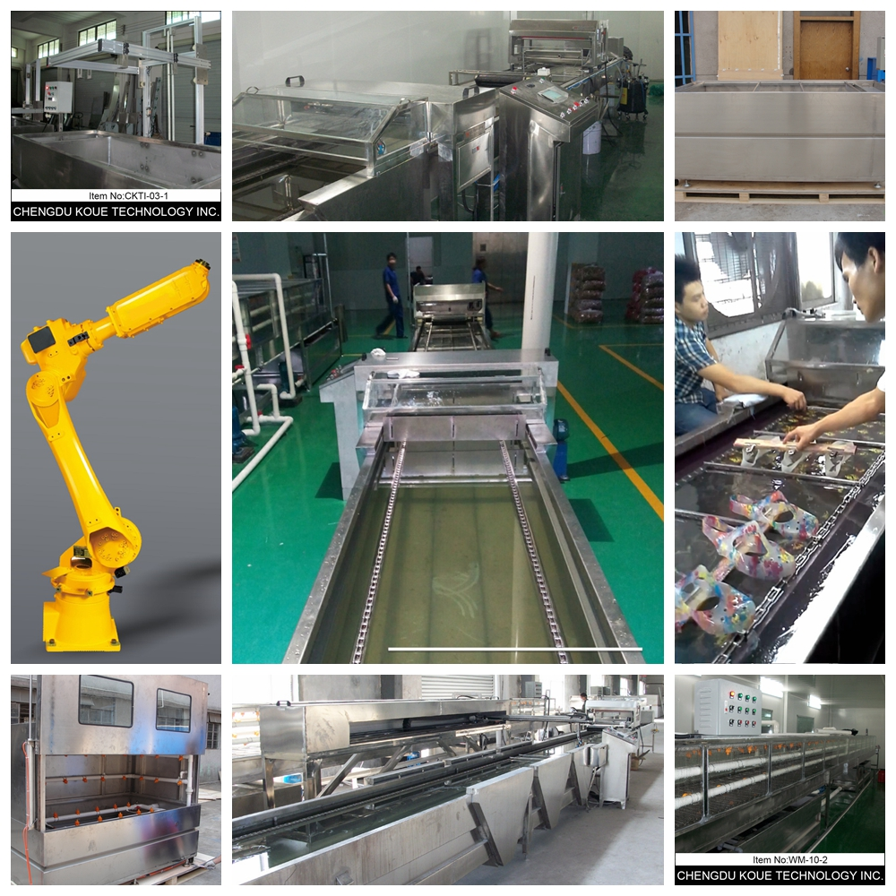 L10m Water Transfer Printing Tunnel Washing Conveyer Hydro graphic Printer Dipping Printer