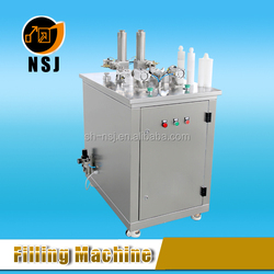 semi-automatic cartridge liquid filling machine