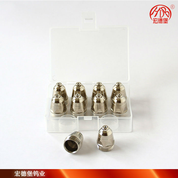 plasma cutting tip nozzle and electrode for p80