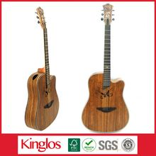 Popular Artistic Colorful Solid Wood Acoustic Dreadnaught Guitar With a reasonable price for Whlesaling (S41U-011-017)