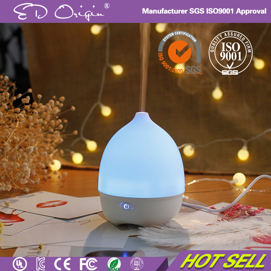 120Ml Mini Warm & Cool Mist Centrifugal Atomization Aroma Diffuser Humidifier Office Gadgets