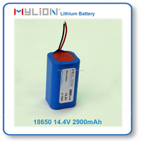 Mylion18650 14.4V 2900mah Rechargeable Lithium Battery for LED Lighting